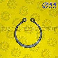 Кольцо стопорное Ф55 ГОСТ 13942-86 (НАРУЖНОЕ), фото 1