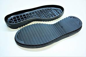 Подошва для обуви мужская 5644 чорн р.40-45, фото 2
