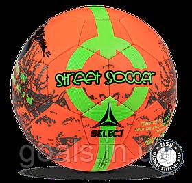 Мяч футбольный SELECT STREET SOCCER NEW (206) оранж/зел р. 4,5