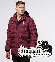 Braggart Aggressive 11726B | Мужская куртка бордовая
