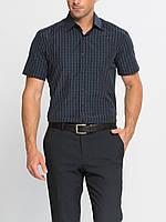 Мужская синяя рубашка LC Waikiki / ЛС Вайкики в мелкую полоску, фото 1