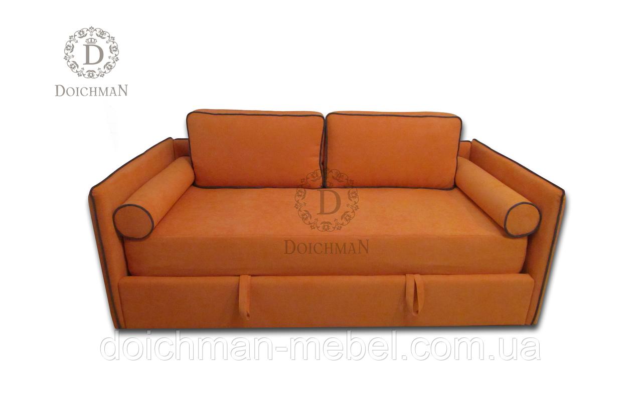 Диван - кровать на ламелях с подъемным механизмом и ящиком для белья