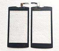 Оригинальный тачскрин / сенсор (сенсорное стекло) для Doogee (HomTom) Zoji Z7 (черный цвет)