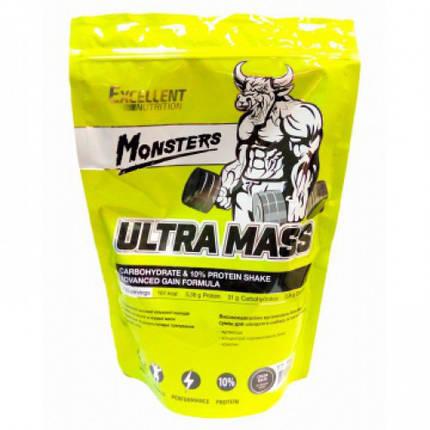 Гейнер Monsters Ultra Mass 10 % Protein 1 kg, фото 2