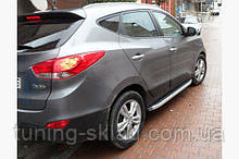 Силові пороги Hyundai ix35 (варіант Fullmond)