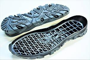 Подошва для обуви мужская 5605 чорн р.40-45, фото 2