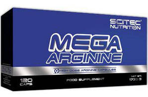 SN Mega Arginine 120 кап