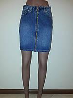 Юбка джинсовая на молнии ZEO 1466, фото 1