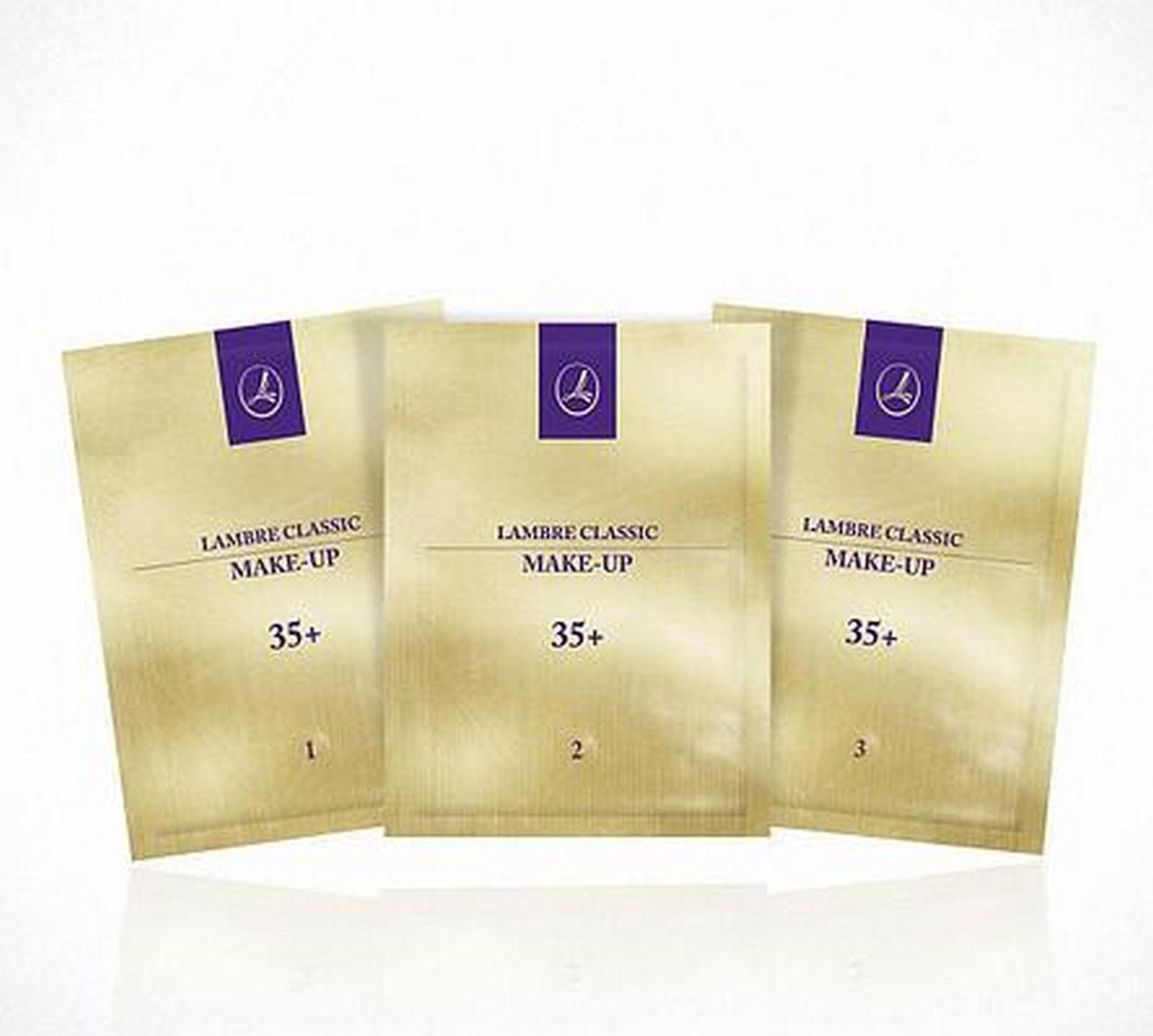 ТЕСТЕР Тональная основа с гиалуроновой кислотой (эффект лифтинга) Make-up Gold 35+ №2 Розово-бежевый 2мл