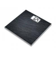 Стеклянные весы с эффектной белой подсветкой дисплея ЖК-дисплея GS 203 Slate
