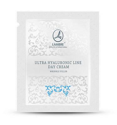 ТЕСТЕР Дневной крем для заполнения морщин с гиалуроновой кислотой Ultra Hyaluronic Line 2мл