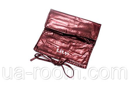 Набор кистей для макияжа (7 шт.) бронзовый LILY, фото 2