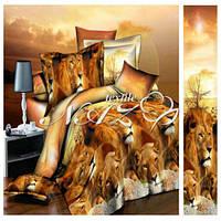 Постельное белье Комплект «Лев» (1,5 спальный)