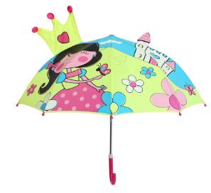"""Детский зонтик 3D ушки """"Принцеса"""""""