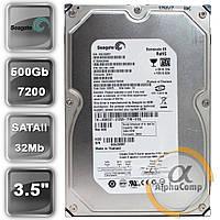 "Жесткий диск 3.5"" 500Gb Seagate ST3500320NS (32Mb/7200/SATAII) б/у"