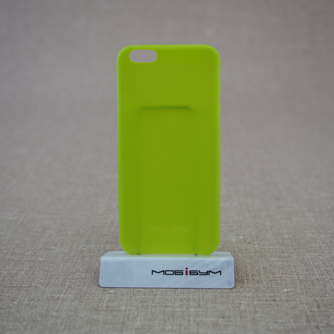Happy Plugs Ultra Thin iPhone 6 green Для телефона Чехол