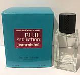 Тестер в подарочной упаковке jeanmishel loveBlue Sedaction 60 мл, фото 2