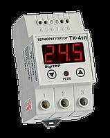 Терморегулятор ТК-4т одноканальный на динрейку с датчиком DigiTOP