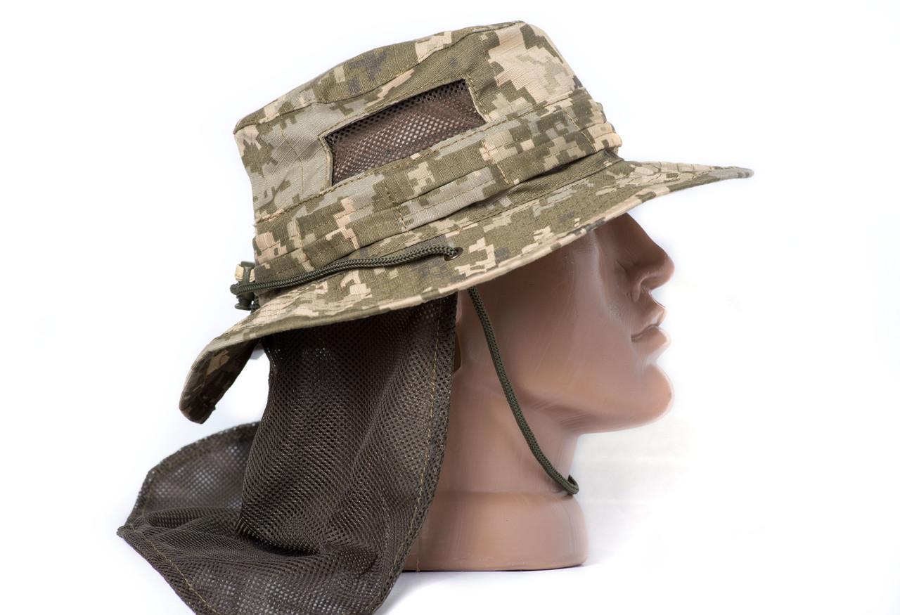 "Панама ""OUTDOOR"" с защитой шеи, MM14, 100% х\б"