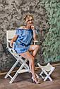 Стул для визажиста, складной, деревянный, стул режиссера, стул для фото сессии, белый, фото 6