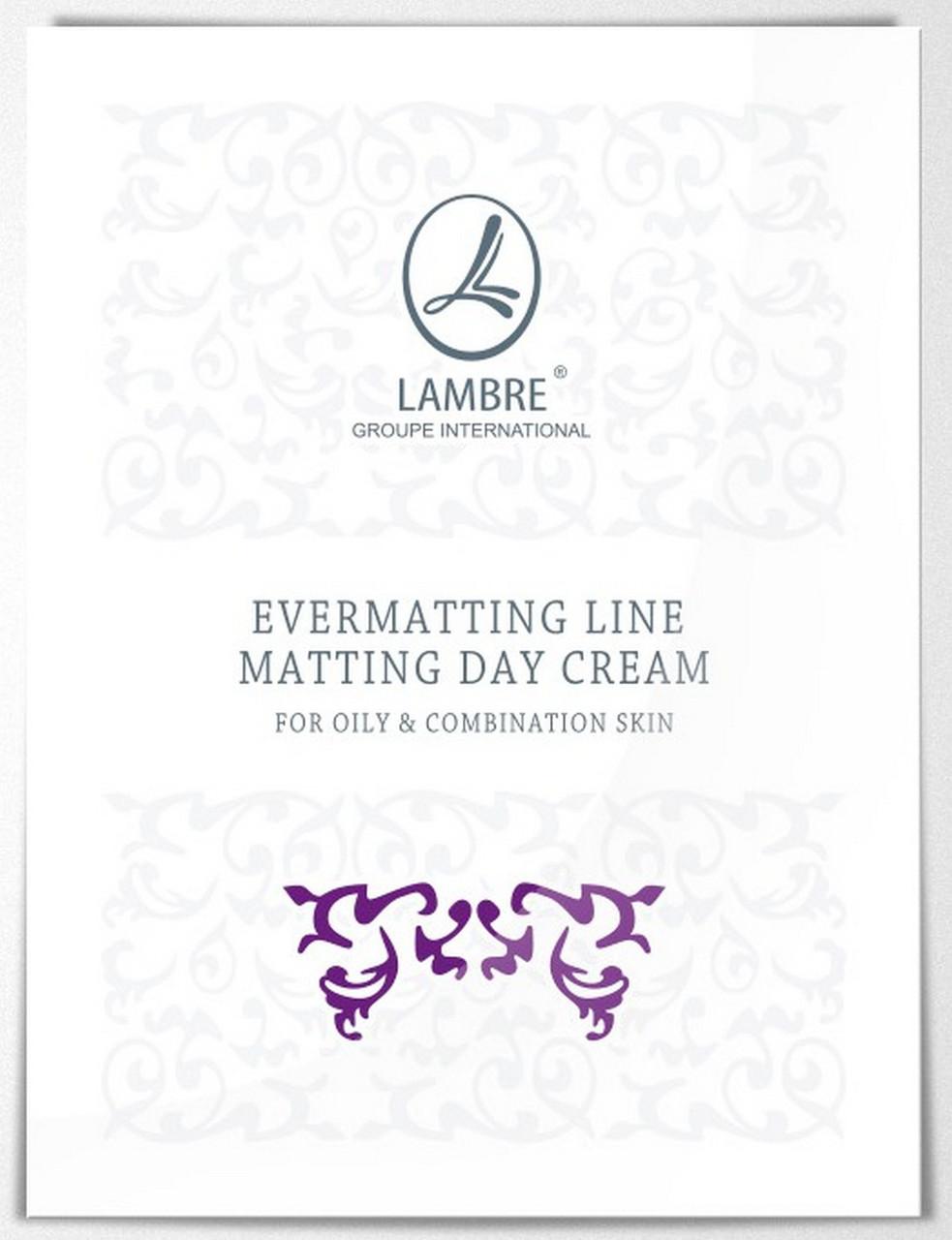 ТЕСТЕР Дневной матирующий крем для жирной и комбинированной кожи Evermatting Line 2мл