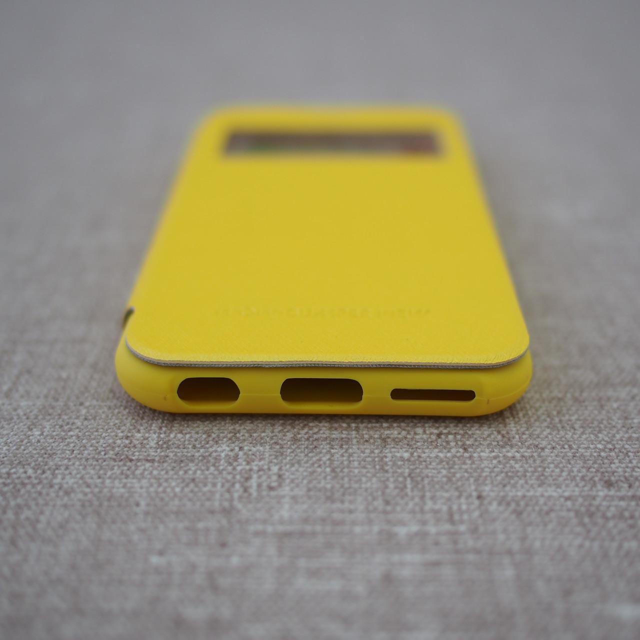 Goospery WOW! Bamper View iPhone 6 yellow Для телефона