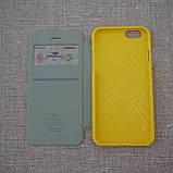 Чехол Goospery WOW! Bamper View iPhone 6 yellow, фото 4