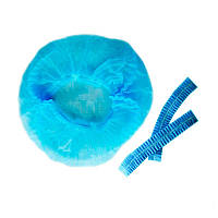 Шапочка-берет Medicom, упаковка 100 шт., цвет голубой