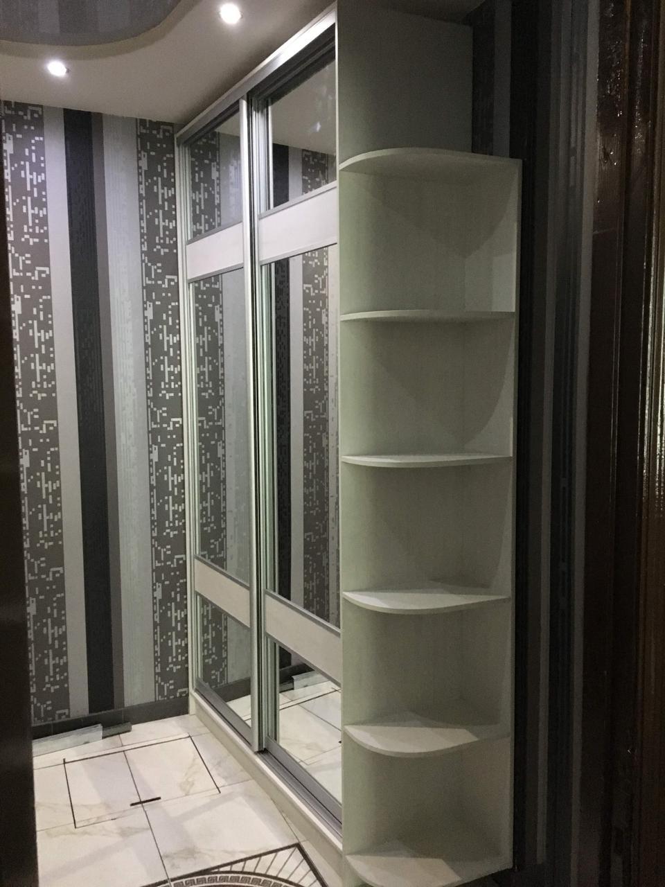 Шкаф купе по индивидуальным размерам зеркальный
