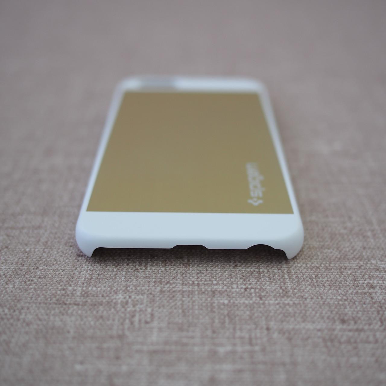 Spigen Aluminum Fit iPhone 6 champagne gold Для телефона