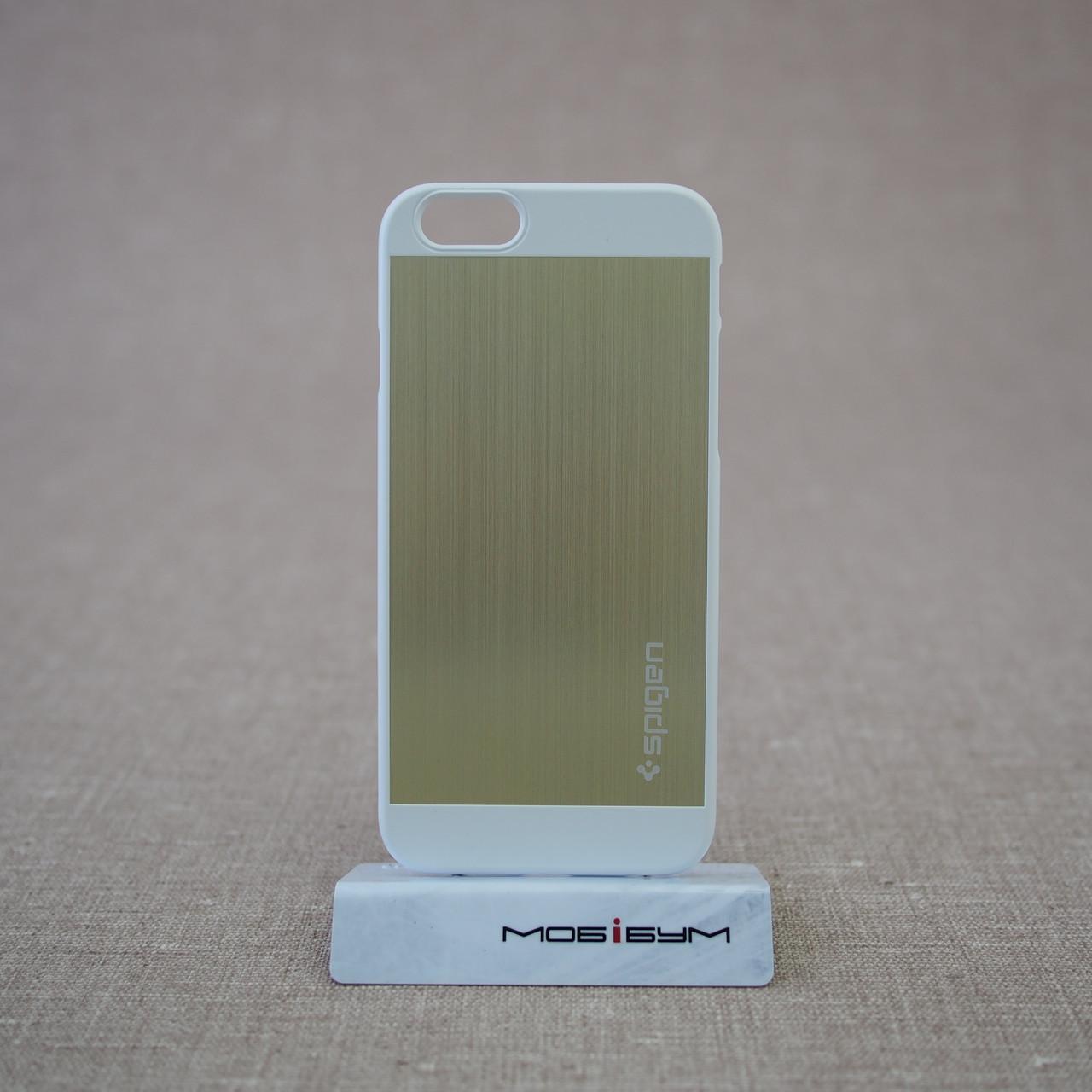 Чехол Spigen Aluminum Fit iPhone 6 champagne gold (SGP10945) EAN/UPC: 8809404212673