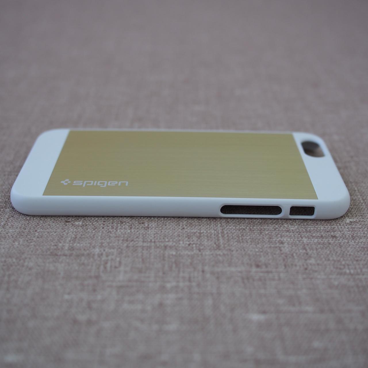 Spigen Aluminum Fit iPhone 6 champagne gold Для телефона Чехол