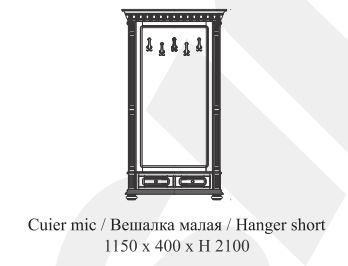 Передпокій /вішалка (без шафи) Venetia Lux Simex