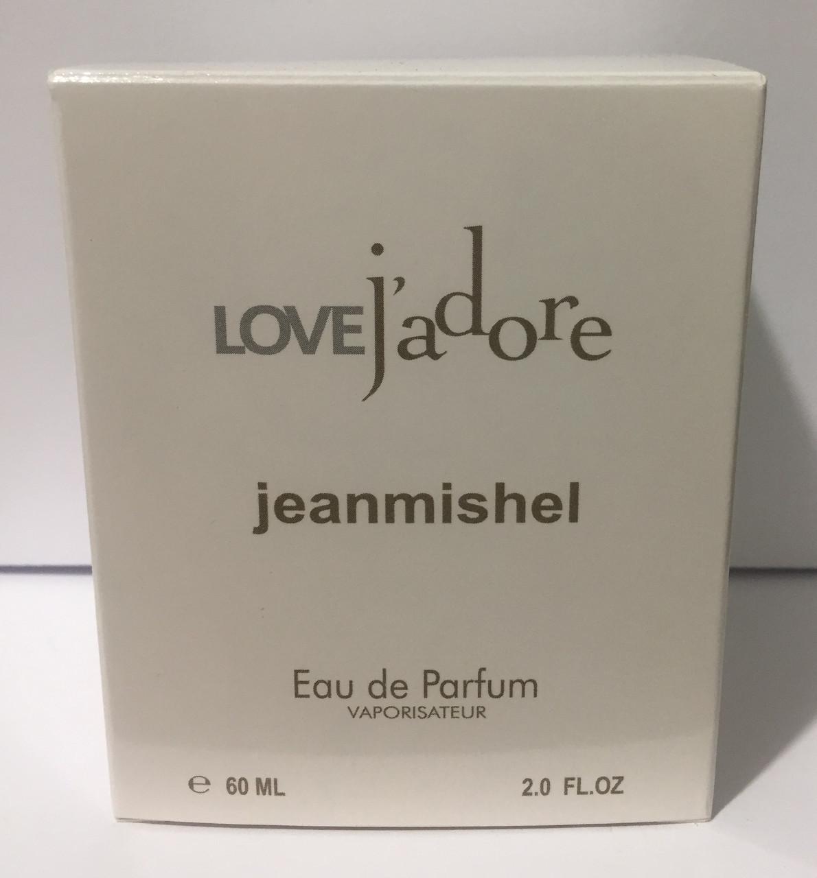 Тестер в подарочной упаковке jeanmishel loveJadore 60 мл