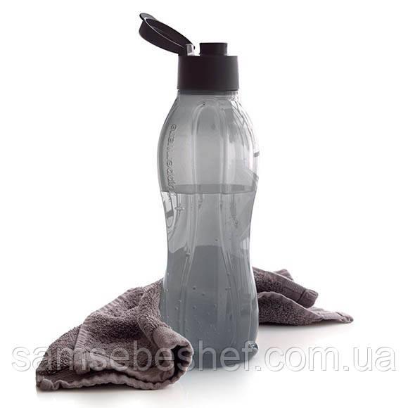 Эко-бутылка Tupperware 1 л черная