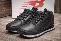 Мужские кроссовки New balance 754 черные кожа