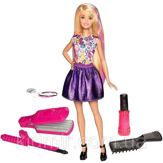 Кукла Барби Удивительные локоны Barbie D.I.Y. Crimps Curls DWK49