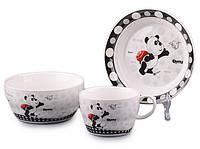 Набор детской посуды Lefard Панда 3 предмета 359-215