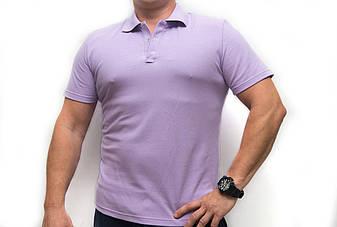 Футболка Поло, лиловое, фото 2