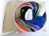 Набор для «ковровой вышивки»  2 иглы «Заяц», фото 2