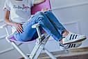 Стул для визажиста, складной, деревянный, стул режиссера, стул для фото сессии, розово-белый, фото 7