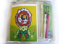 Набор для «ковровой вышивки»  2 иглы «Львенок», фото 1