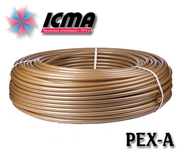 Труба для теплого пола Icma 16х2 PEX-A с кислородным барьером