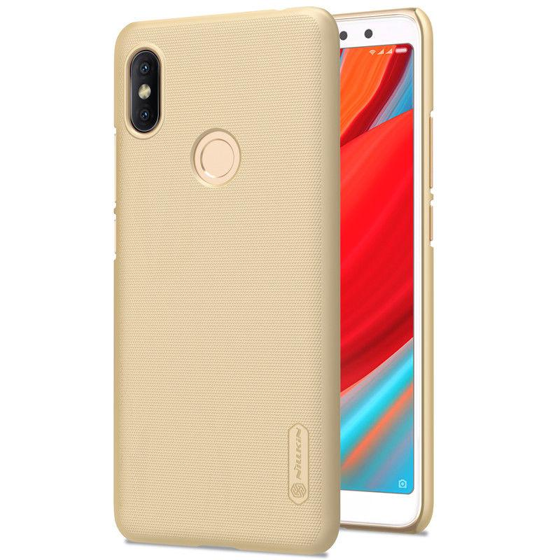 Nillkin Xiaomi Redmi S2 Super Frosted Shield Gold Чехол Накладка Бампер