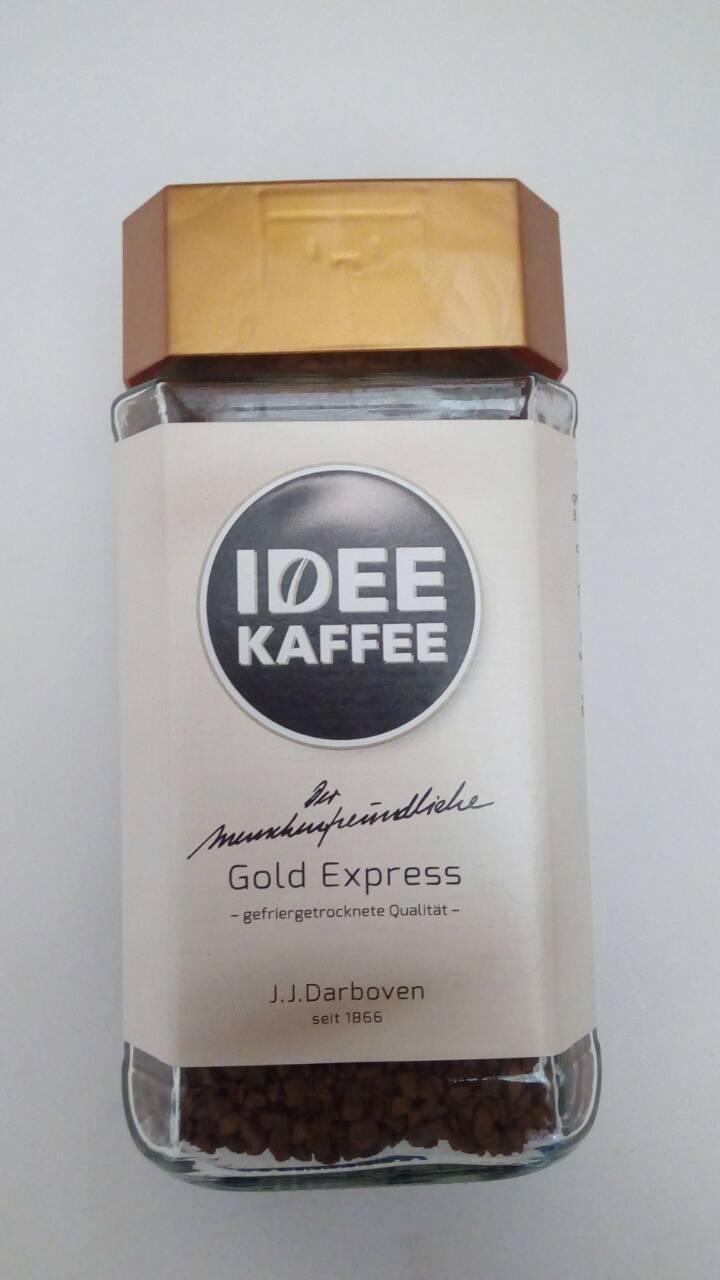 Растворимый кофе J.J. Darboven IDEE Gold Express 100 грамм