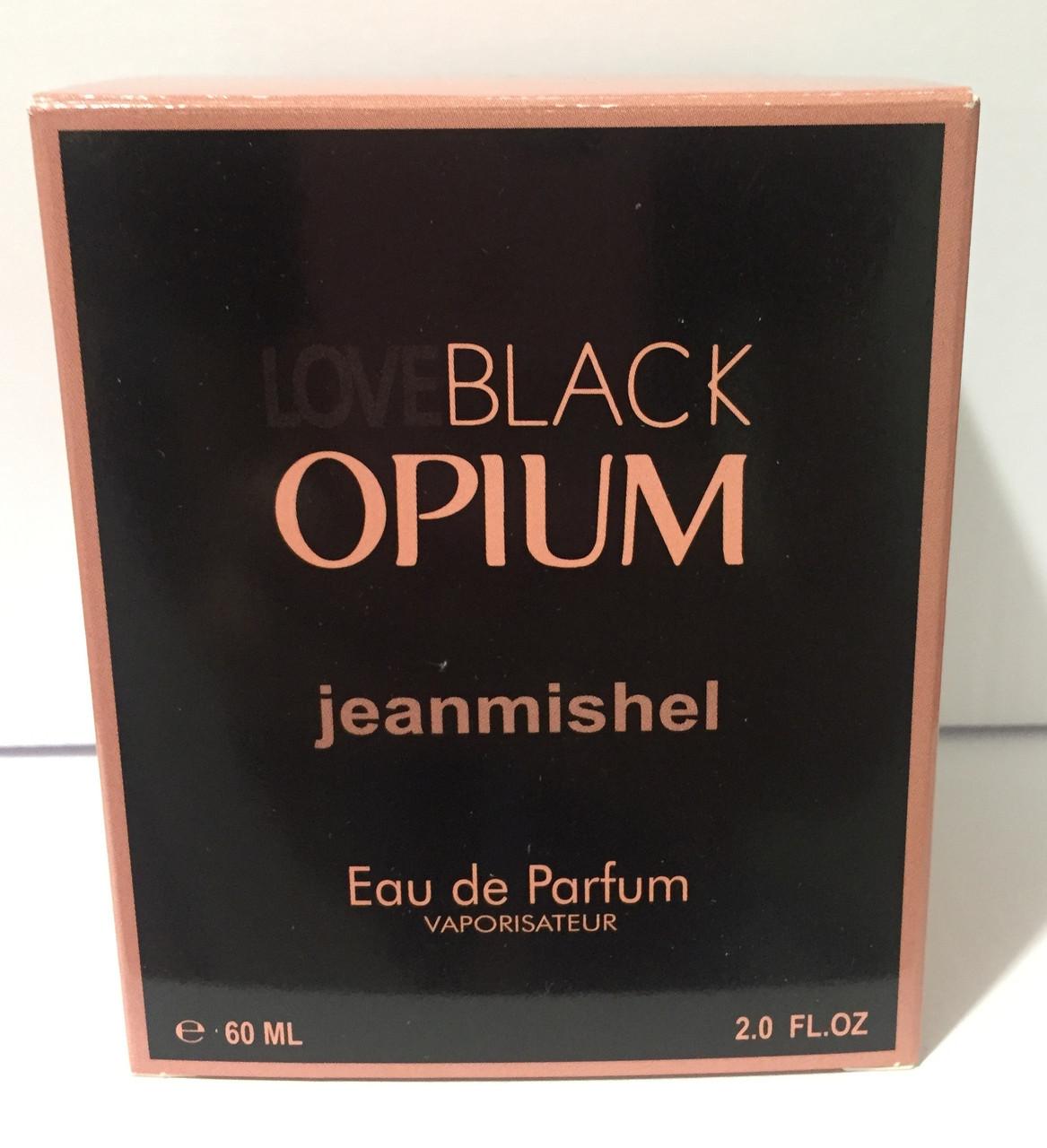 Тестер в подарочной упаковке jeanmishel loveBlack Opium 60 мл