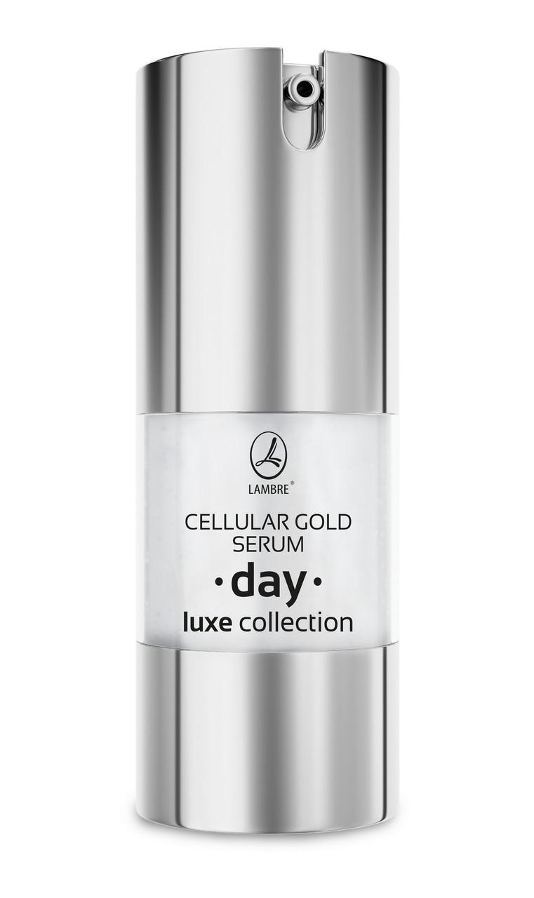 Активная дневная сыворотка с частицами золота Cellular Gold Serum Day LUXE Collection 20мл