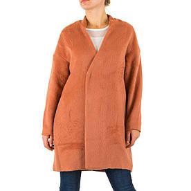Пальто женское демисезонное Sweewe (Европа) Терракотовый