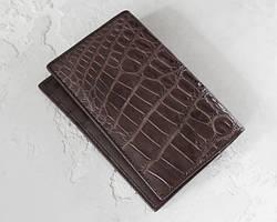 Обложки на паспорт из кожи крокодила