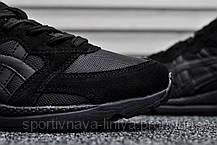Кроссовки мужские черные Asics Gel Lyte Lique Triple Black (реплика), фото 3